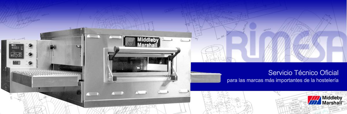 Servicio Técnico Oficial Middleby Marshall